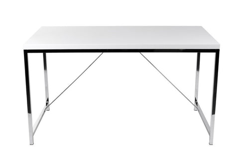 Ontario Desk WHITE/CHROME - Apt2B - 1