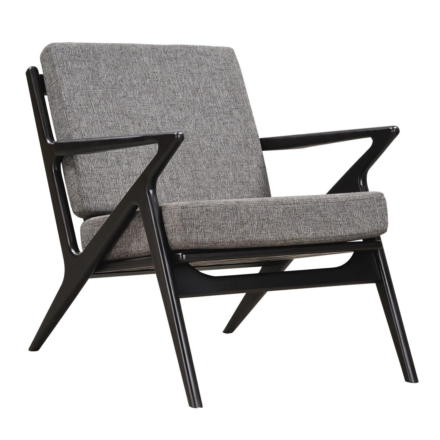 Jet Accent Chair GREY - BLACK