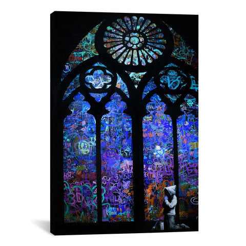 Banksy STAINED GLASS WINDOW II - Apt2B - 1