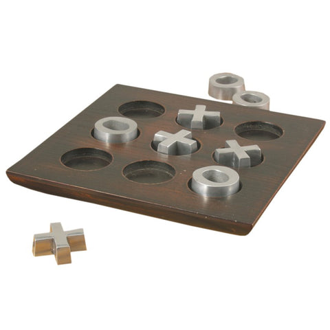 Van Ness Industrial Tic-Tac-Toe Set PEWTER - Apt2B