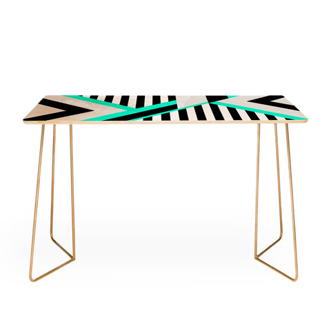 TURQUOISE STRIPE COMBINATION Desk by Elisabeth Fredriksson
