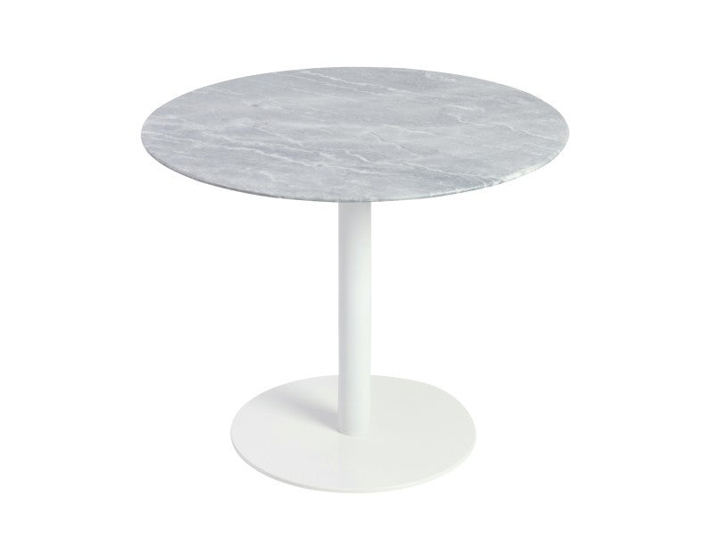 Paloma Dining Table MARBLE/WHITE