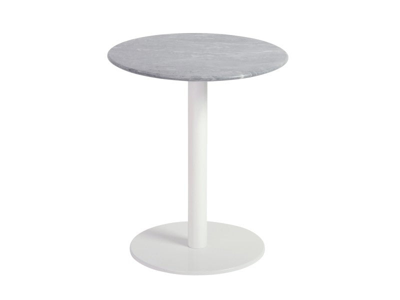Paloma Side Table MARBLE/WHITE