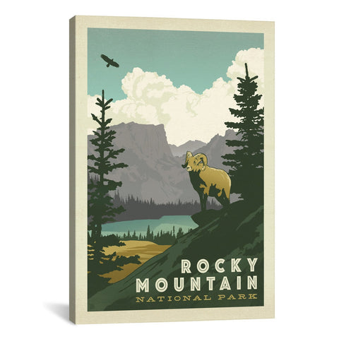 Anderson Design Group NATIONAL PARKS COLLECTION: ROCKY MOUNT