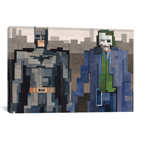 Adam Lister BATMAN AND JOKER - Apt2B - 1