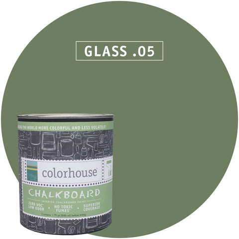 Chalkboard Paint by Colorhouse GLASS .05 - Apt2B - 1