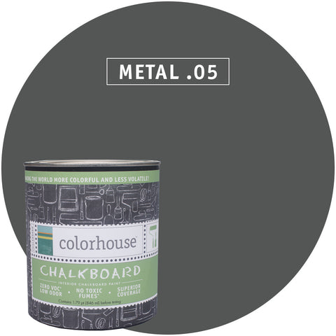 Chalkboard Paint by Colorhouse METAL .05 - Apt2B - 1