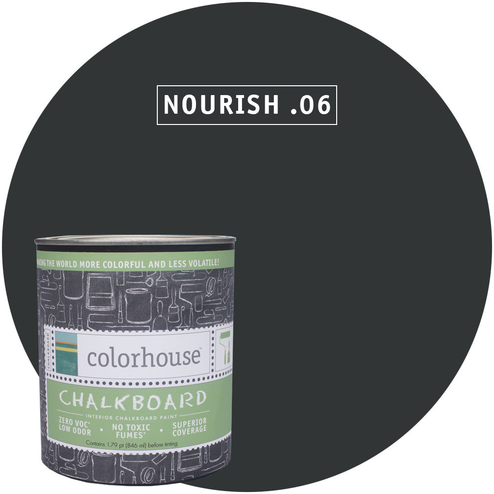 Chalkboard Paint by Colorhouse NOURISH .06