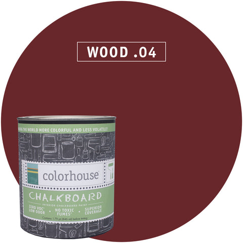 Chalkboard Paint by Colorhouse WOOD .04 - Apt2B - 1
