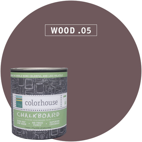 Chalkboard Paint by Colorhouse WOOD .05 - Apt2B - 1