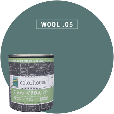 Chalkboard Paint by Colorhouse WOOL .05 - Apt2B - 1