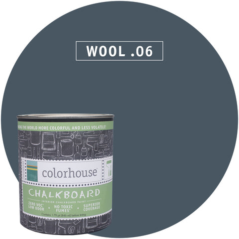Chalkboard Paint by Colorhouse WOOL .06 - Apt2B - 1