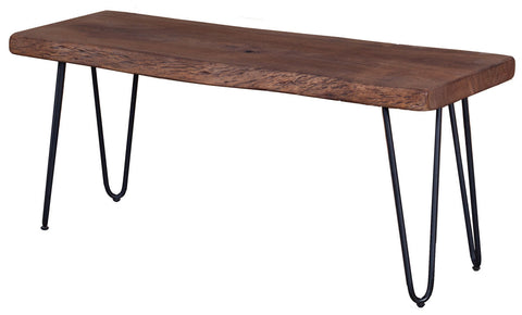 Angeles Crest Live Edge Bench NATURAL
