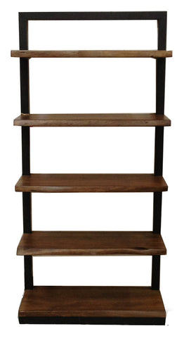 Angeles Crest Live Edge Bookcase NATURAL