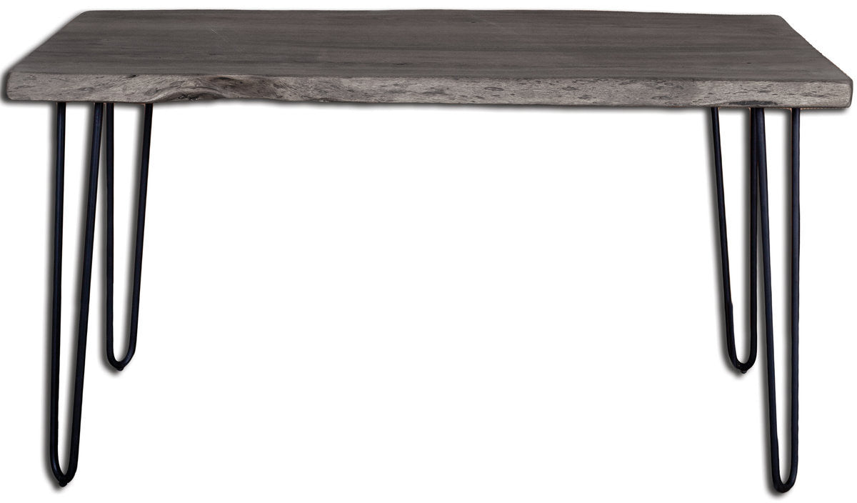 Angeles Crest Live Edge Dining Table GREY ...