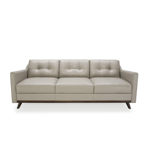 Baker Leather Sofa GREY - Apt2B - 1
