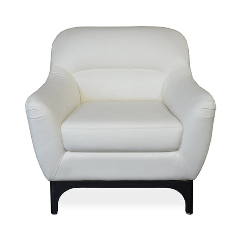 Bloomfield Leather Chair IVORY - Apt2B - 1