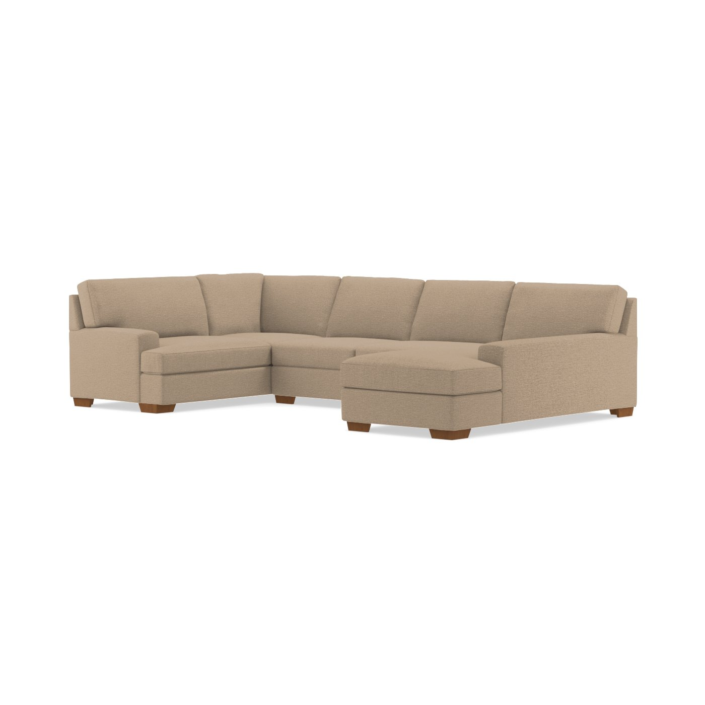 Bradbury 3pc Sectional Sofa Choice of Fabrics Apt2B