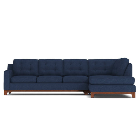 Brentwood 2pc Sectional Sofa RAF in BLUE JEAN - CLEARANCE