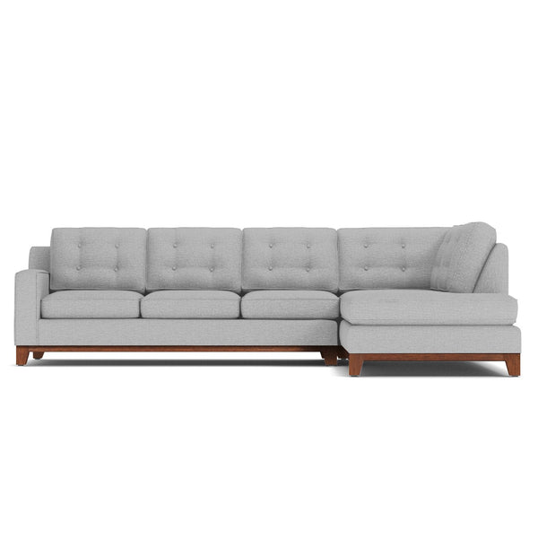 Brentwood 2pc Sectional Sofa Choice Of Fabrics Apt2b