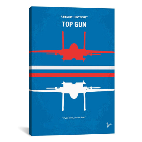 Chungkong TOP GUN MINIMAL MOVIE POSTER - Apt2B - 1