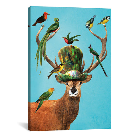 Coco de paris DEER WITH BIRDS