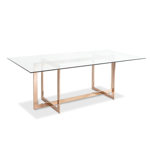 Carmelina Dining Table ROSE GOLD - Apt2B - 1