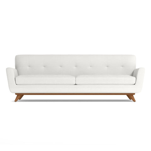 Carson Sofa in PURE WHITE - CLEARANCE