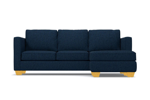 Catalina Reversible Chaise Sleeper Sofa in BLUE JEAN - CLEARANCE