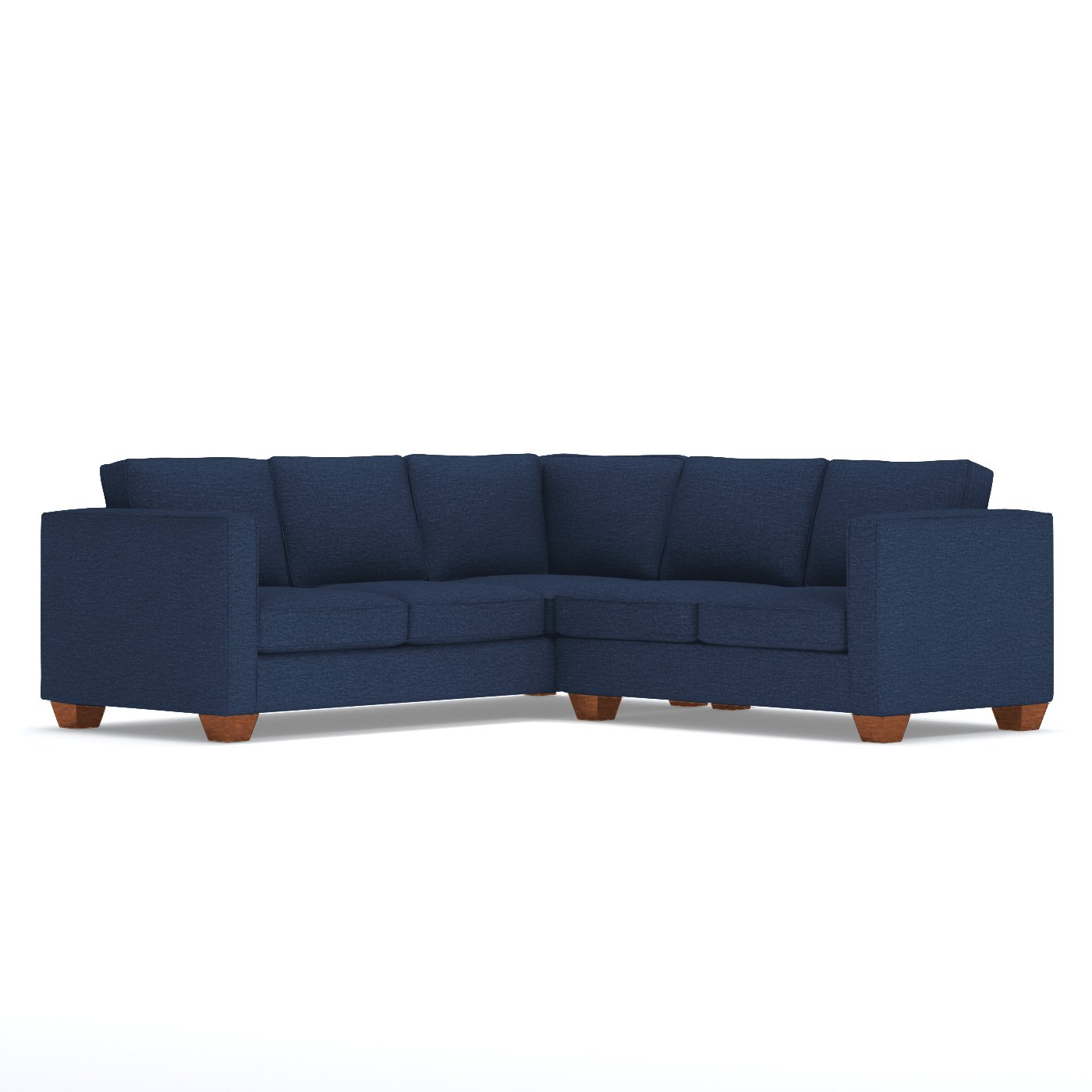 Standard Couch Length Living Room Furniture Catalina Two Piece L  Sectional U2013 Apt2b