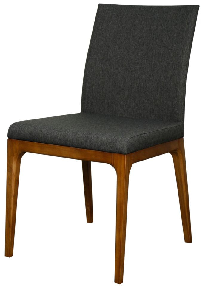 Charles Side Chair Set of 2 CHARCOAL