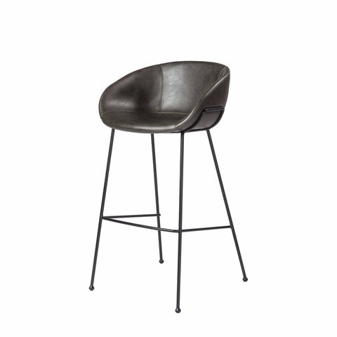 Chavez Bar Stool DARK GREY - Set of 2
