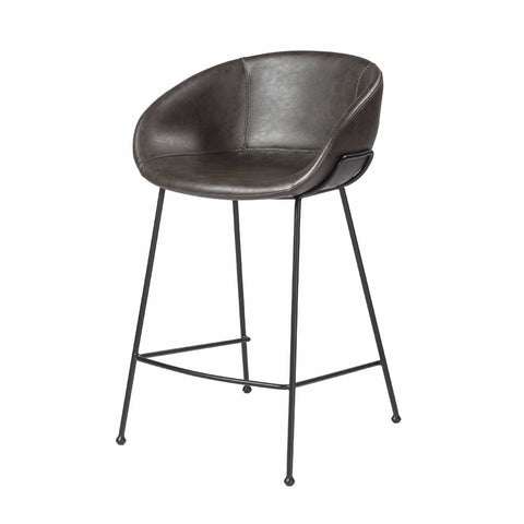 Chavez Counter Stool DARK GREY - Set of 2