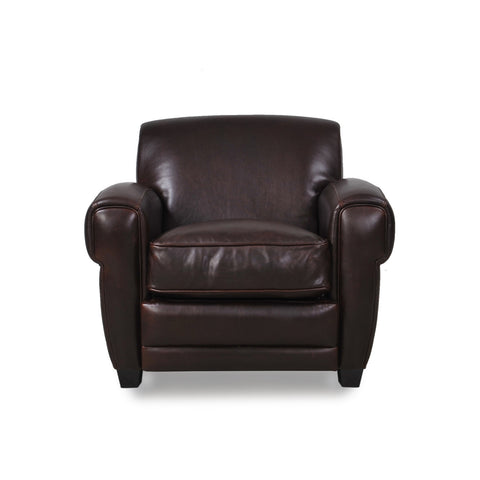 Cleon Leather Chair BROWN - Apt2B - 1