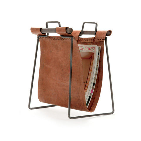 Clint Leather Magazine Stand - Apt2B