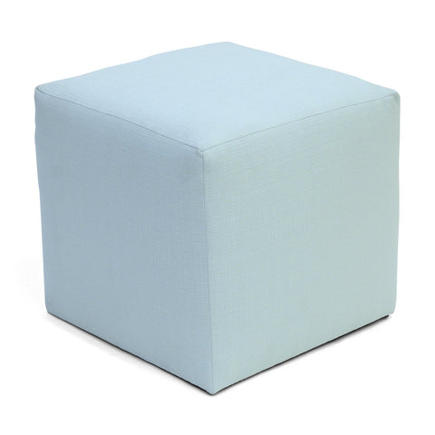 Summer Camp Cube Ottoman POOL BLUE