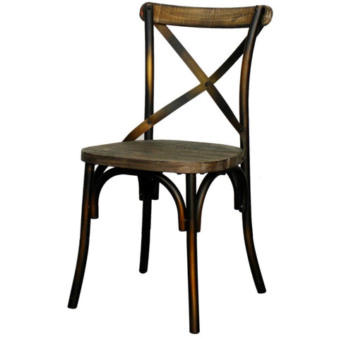 Damon Dining Chair DISTRESSED COPPER - Apt2B