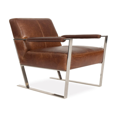 Darby Leather Chair COGNAC - Apt2B - 1