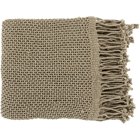 Eloise Woven Throw TAN