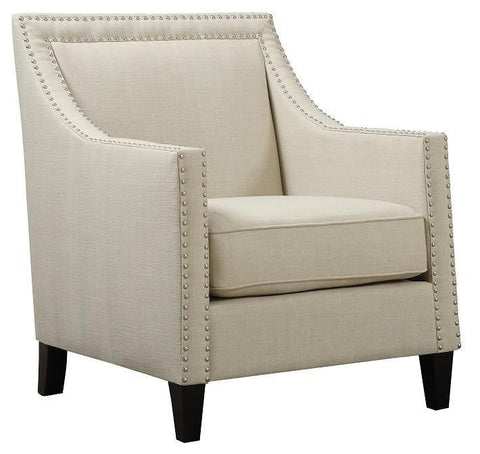 Elsinore Accent Chair LINEN - CLEARANCE