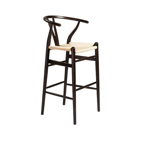Sylmar Bar Chair WALNUT/NATURAL