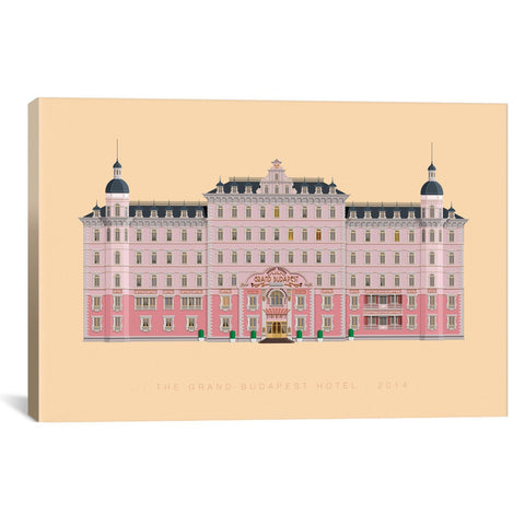 Fred Birchal FAMOUS HOLLYWOOD SETTINGS SERIES: THE GRAND BUDAPEST HOTEL