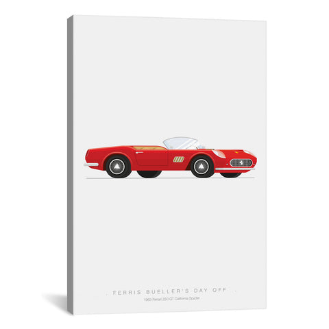 Fred Birchal FAMOUS CARS SERIES: FERRIS BUELLER'S DAY OFF