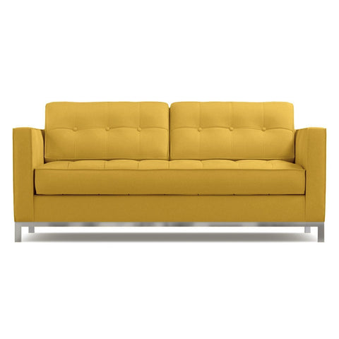 Fillmore Apartment Size Sofa in MUSTARD - CLEARANCE