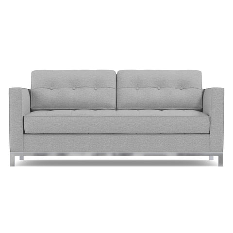 Fillmore Apartment Size Sleeper Sofa in SILVER - CLEARANCE
