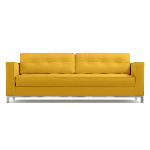 Fillmore Queen Size Sleeper Sofa in MUSTARD - CLEARANCE