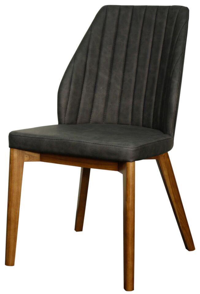 Florence Side Chair Set of 2 DISTRESSED GREY