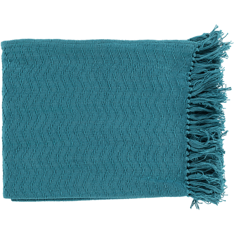 Gayley Woven Throw AQUA