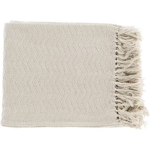 Gayley Woven Throw CREAM