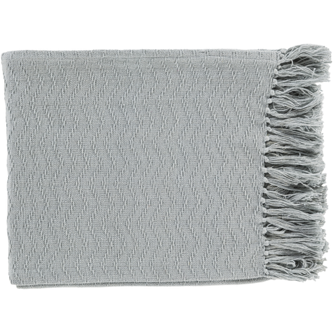 Gayley Woven Throw SILVER